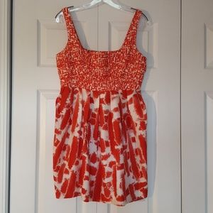 Bb Dakota red and white dress, size 6